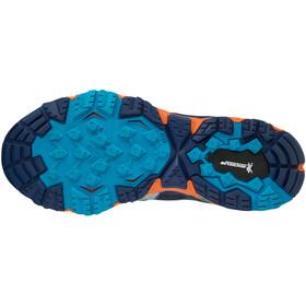 Mizuno Wave Mujin 5 GTX Running Shoes Women estate blue/silver/hawaiian ocean